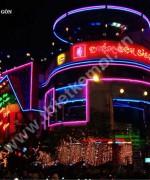 Den neon sign Điểm hẹn Sài Gòn