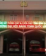 Bang dien tu PCCC Binh Duong
